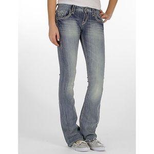 Rock Revival Vivian Boot Light Wash Bootcut Jeans